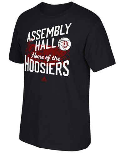 adidas Men's Indiana Hoosiers Stadium Tri Blend T-Shirt
