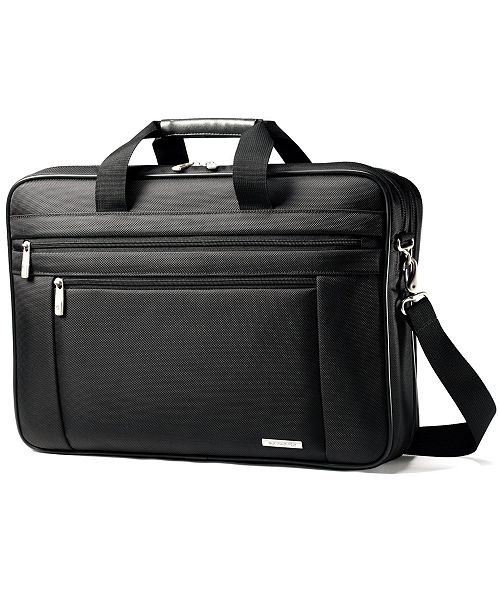Samsonite Classic Two Gusset Toploader Laptop Briefcase   Reviews ... 95fad46a88e94