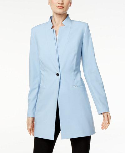 Calvin Klein Stand Collar Topper Jacket Jackets Women