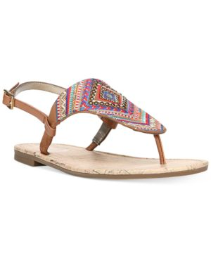 Circus By Sam Edelman Brita Embellished Thong Sandals Women