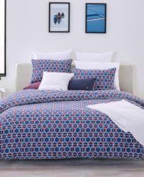 CLOSEOUT! Lacoste Home Mogador Comforter Sets