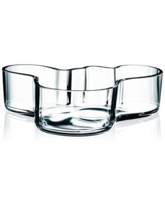 """Aalto 8"""" Clear Bowl"""
