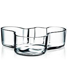 """Iittala Aalto 8"""" Clear Bowl"""