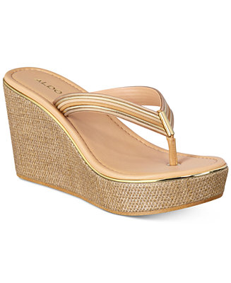 Aldo Women S Capricchia Platform Wedge Sandals Sandals