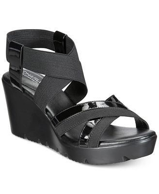 CHARLES by Charles David Vote Two-Piece Platform Sandals