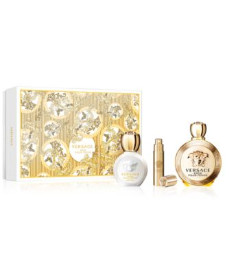 Versace 3-Pc. Eros Pour Femme Gift Set, Created for Macy's - Shop ...