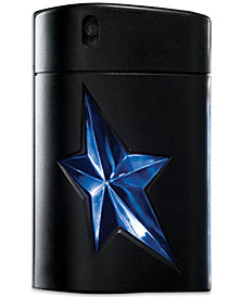 MUGLER Men's A*MEN Rubber Flask Refillable Eau de Toilette Spray, 3.4 oz