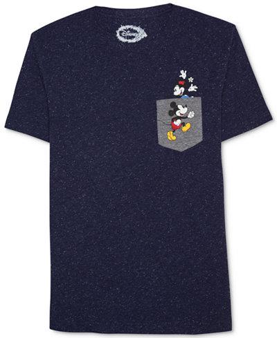 Hybrid Apparel Men's Mickey Mouse Graphic-Print Cotton T-Shirt
