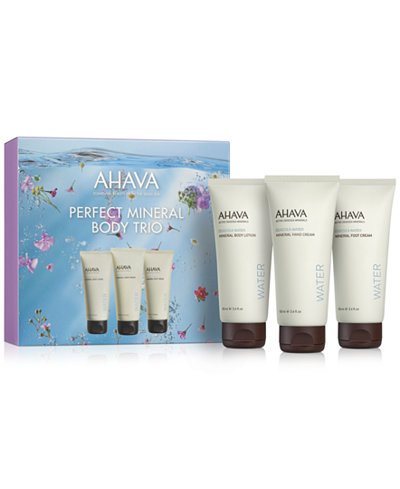 Ahava 3-Pc. Perfect Mineral Body Gift Set