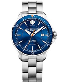 Men's Swiss Automatic Clifton Club Stainless Steel Bracelet Watch 42mm M0A10378