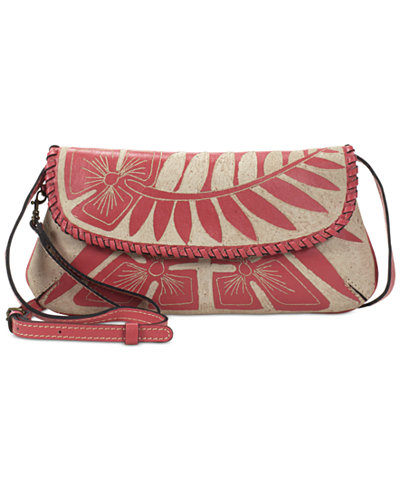 Patricia Nash Cuban Carved Baku Medium Crossbody