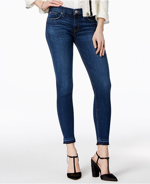 4ab4db68c38 Hudson Jeans Krista Raw-Hem Super Skinny Jeans & Reviews - Jeans ...