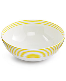 kate spade new york With  A Twist Serving Bowl, Created for Macy's