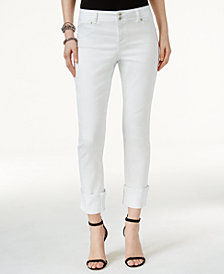 I.N.C. Petite Cropped Jeans, Created for Macy's