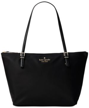 Watson Lane - Small Maya Leather Tote - Black