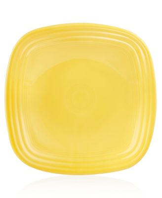 Sunflower Square Luncheon Plate