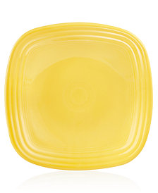 Fiesta Sunflower Square Luncheon Plate
