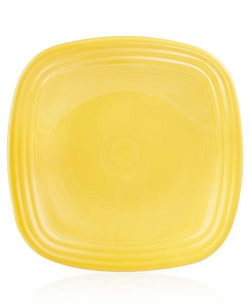 Fiesta Sunflower Square Luncheon Plate