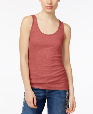 Image of Style & Co Racer-Back Tank Top, Created for Macy's