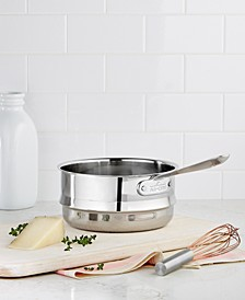 Stainless Steel 3 Qt. Double Boiler Insert