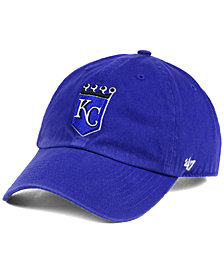 '47 Brand Kansas City Royals Cooperstown CLEAN UP Cap