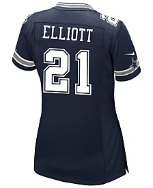 Nike Women's Ezekiel Elliott Dallas Cowboys Game Jersey