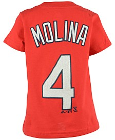 Majestic Toddlers' Yadier Molina St. Louis Cardinals T-Shirt