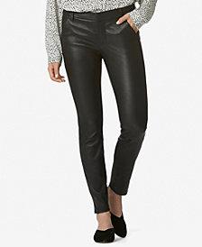 Avec Les Filles Skinny Leather Trousers