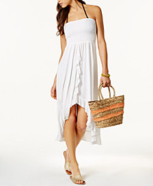 Raviya Smocked Tube Dress Cover-Up