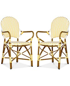 Boylin Set of 2 Indoor/Outdoor Wicker Armchair