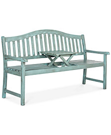 Garad Outdoor Bench, Quick Ship