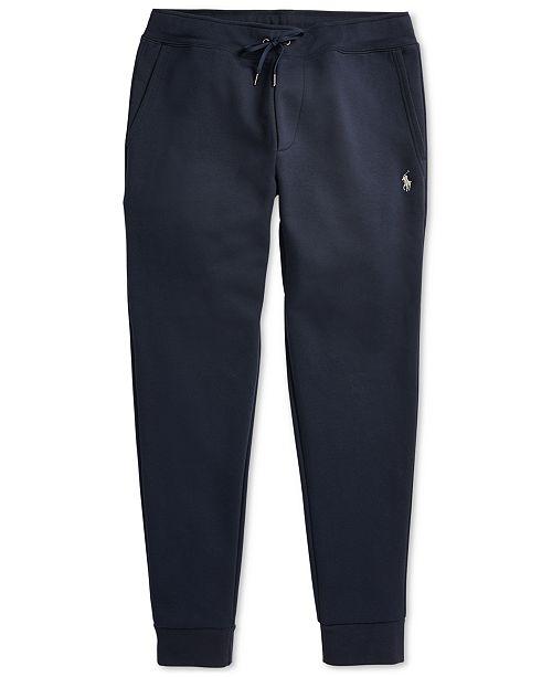 736295b70 Polo Ralph Lauren Men s Double-Knit Joggers   Reviews - Pants - Men ...