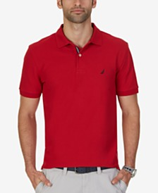 Nautica Men's Big and Tall Performance Deck Polo