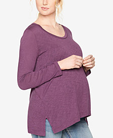 Splendid Maternity Long-Sleeve Top