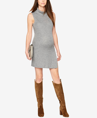 BCBGMAXAZRIA Maternity Rib-Knit Sheath Dress