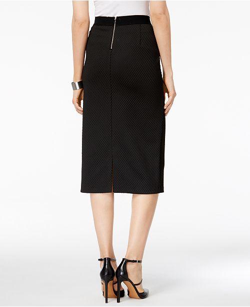b93ee410d1 Alfani Midi Pencil Skirt, Created for Macy's & Reviews - Skirts ...