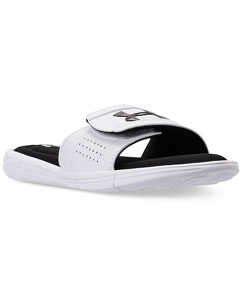d1adecae7ea9 Under Armour Big Boys  Ignite V Slide Sandals from Finish Line ...