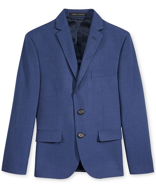 Lauren Ralph Lauren Big Boys Solid Suit Jacket