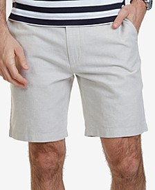 "Men's 8-1/2"" Classic-Fit Linen Blend Shorts"