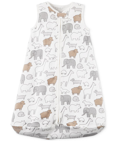 Carter's Animal-Print Cotton Sleep Sack, Baby Boys & Girls