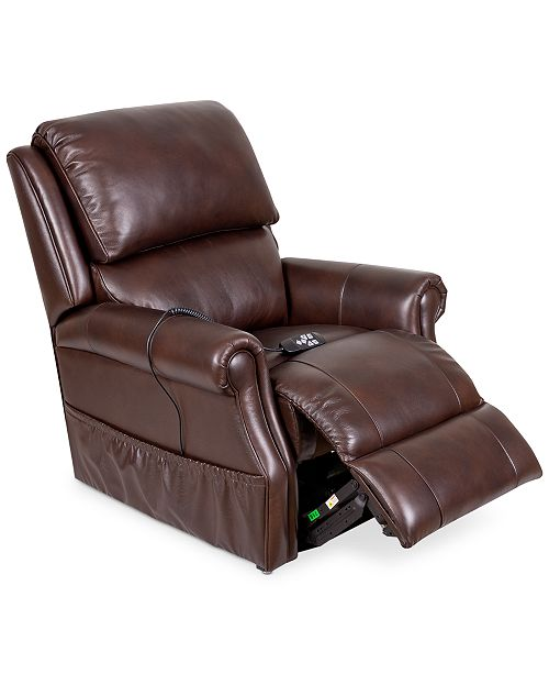 Pleasing Raeghan Leather Power Lift Reclining Chair Caraccident5 Cool Chair Designs And Ideas Caraccident5Info