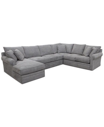 Doss Ii 4 Pc Chaise Sectional Furniture Macy S