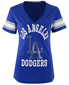 G-III Sports Women's Los Angeles Dodgers Triple Play T-Shirt