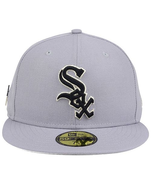buy popular d1ee6 af49c ... authentic new era. chicago white sox pintastic 59fifty cap. be the first  to write