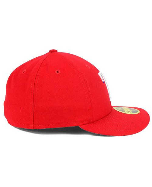 1a2dff57fd4 ... uk new era texas rangers low profile ac performance 59fifty cap 73313  c53f5