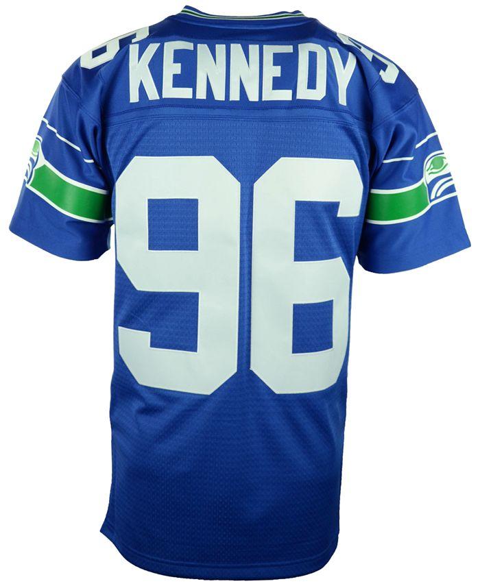 Men's Cortez Kennedy Seattle Seahawks Replica Throwback Jersey
