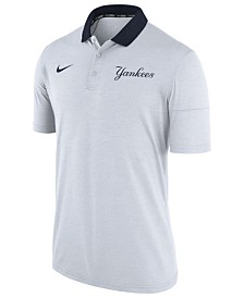 Nike Men's New York Yankees Dri-FIT Touch Polo