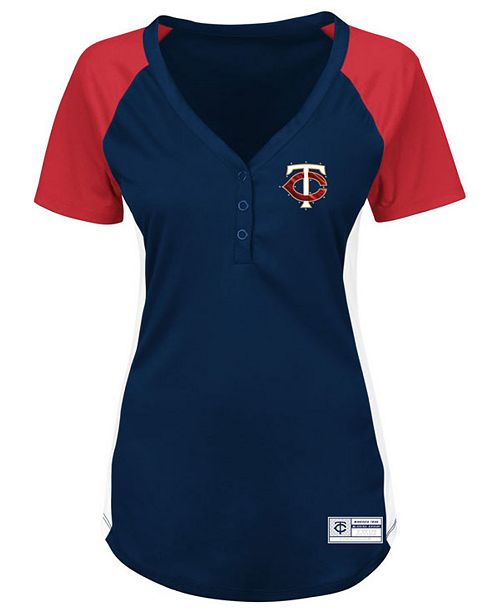 Majestic Women's Minnesota Twins League Diva T-Shirt