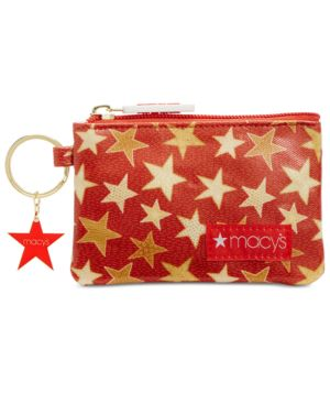Image of Macy's Coated Canvas Coin Purse, Created for Macy's