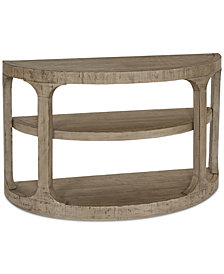 Derevo Demilune Console Table
